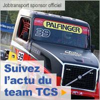 Suivez l'actu du team TCS